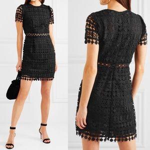 MICHAEL Michael Kors Guipure Lace Mini Dress Black